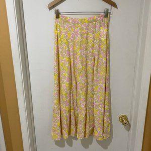 NWT Faithfull the Brand Pleated Skirt sz S